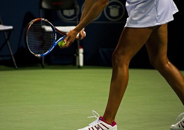 カランメソッドのスピーキング=「テニス」のイメージです。