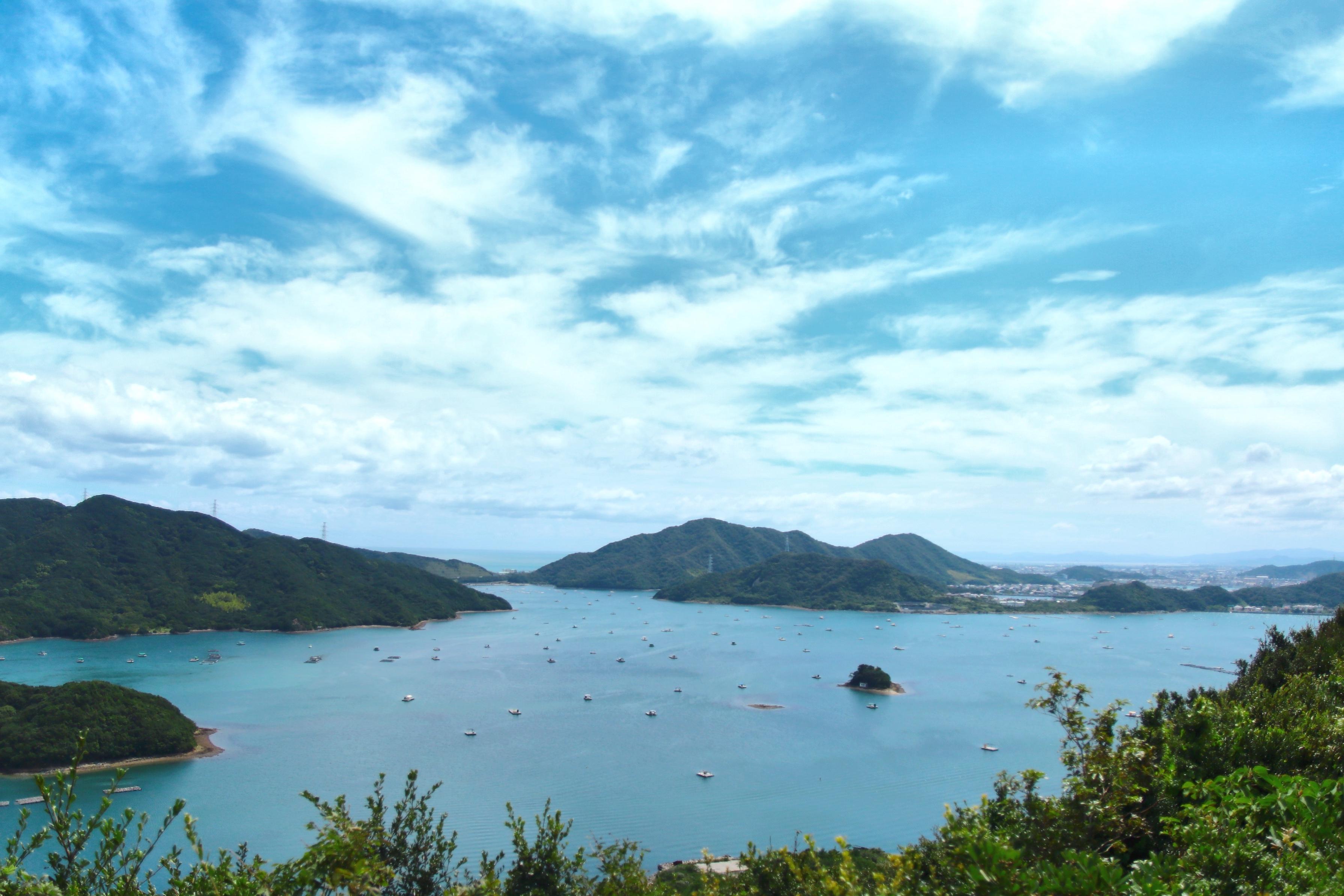 鳴門の海の景色の写真