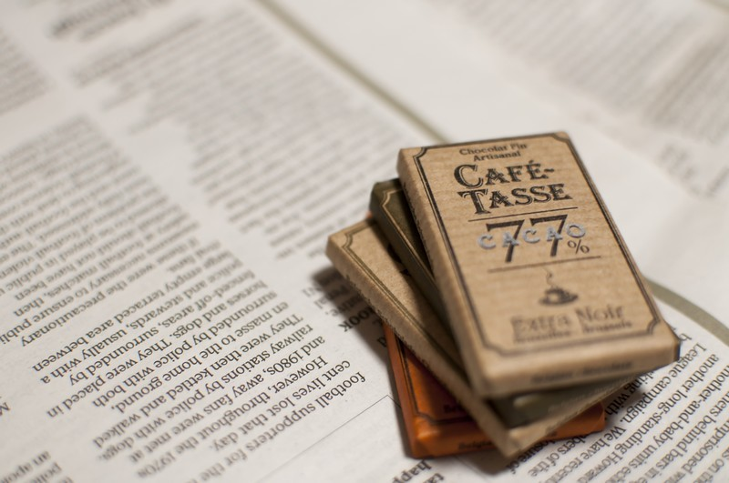 新聞とチョコレート