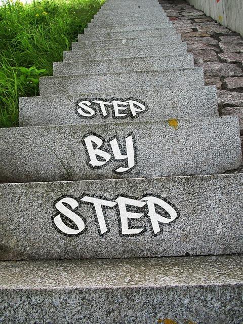 「徐々にステージを進む」イメージです。