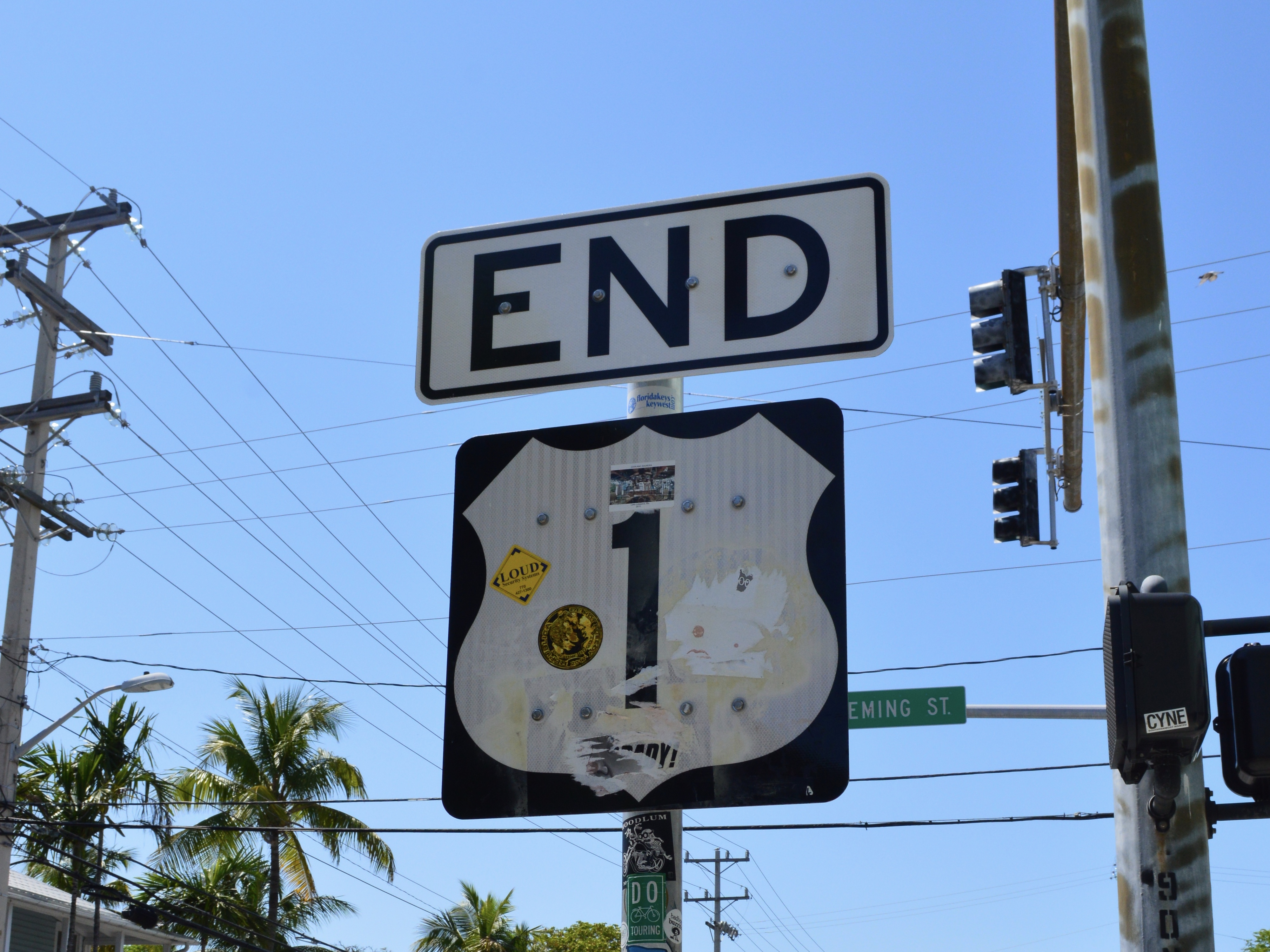 ENDの写真です。