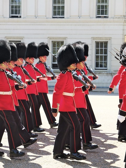 イギリスのイメージ、兵隊です。