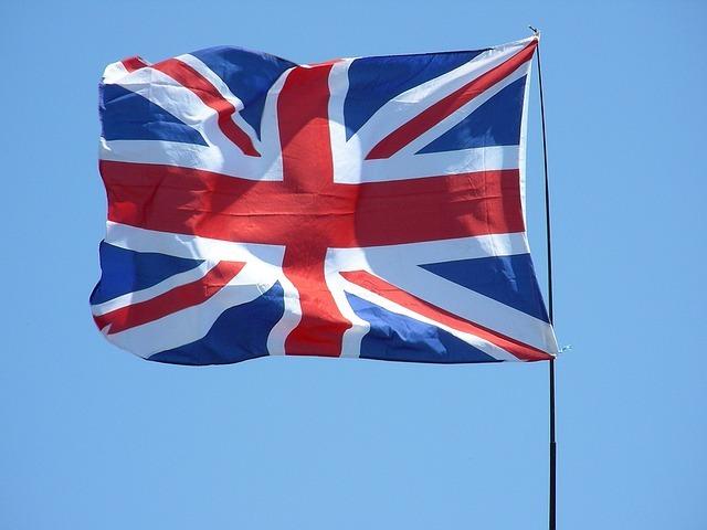 イギリスの象徴、ユニオンジャックです。