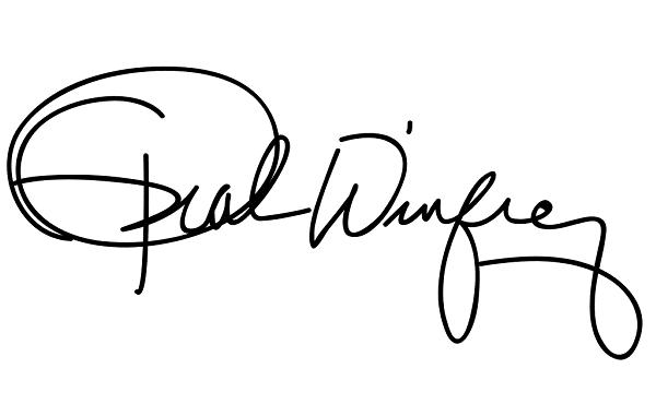 オプラ・ウインフリーのサイン