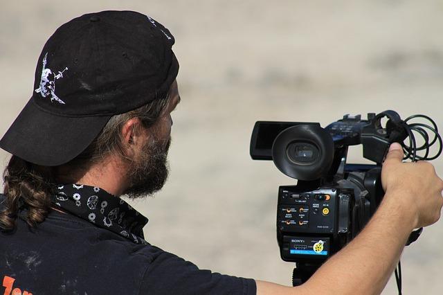 映画監督のイメージです。