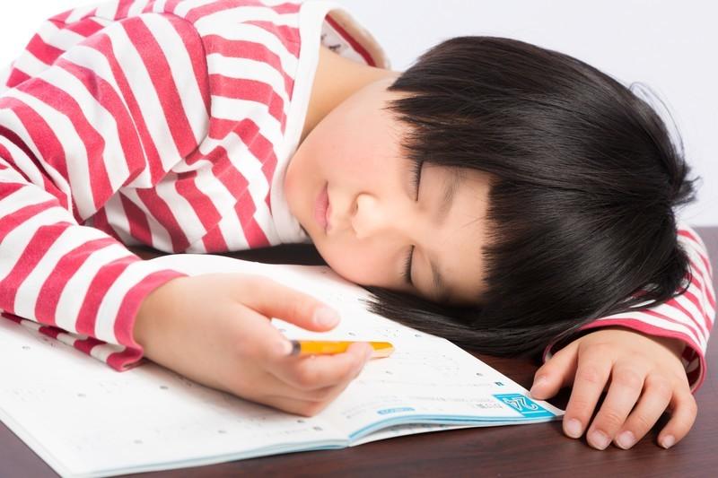 勉強に疲れている写真