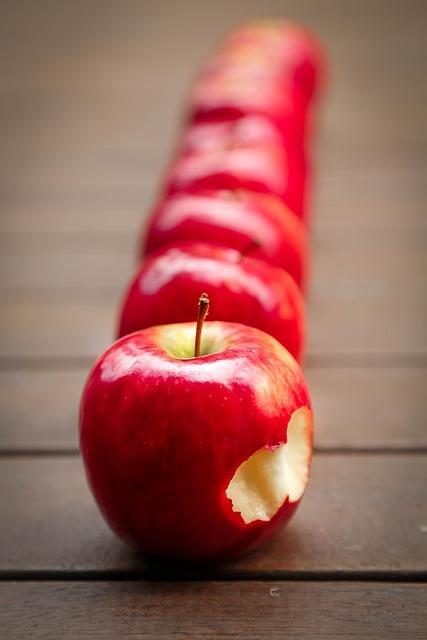 ひとかじりのリンゴ