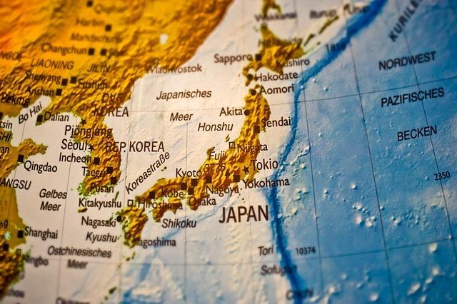 日本地図のイメージです