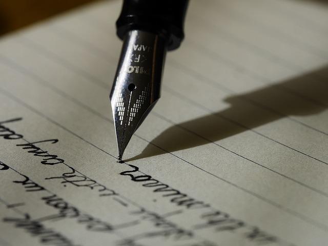 手紙のイメージです。