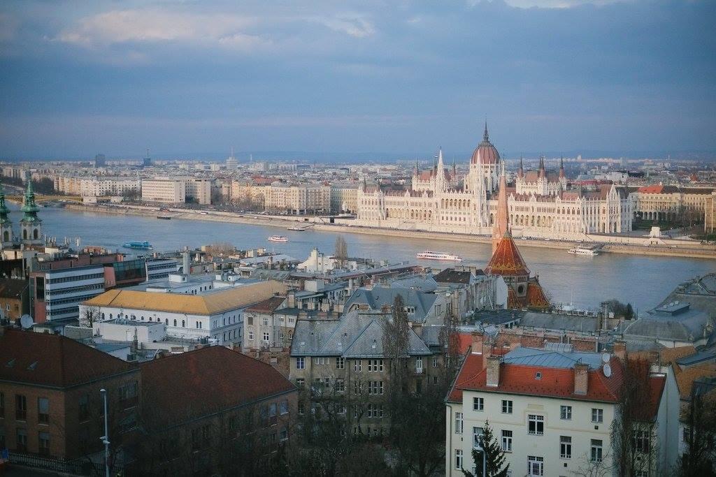 ブダペストの町並み