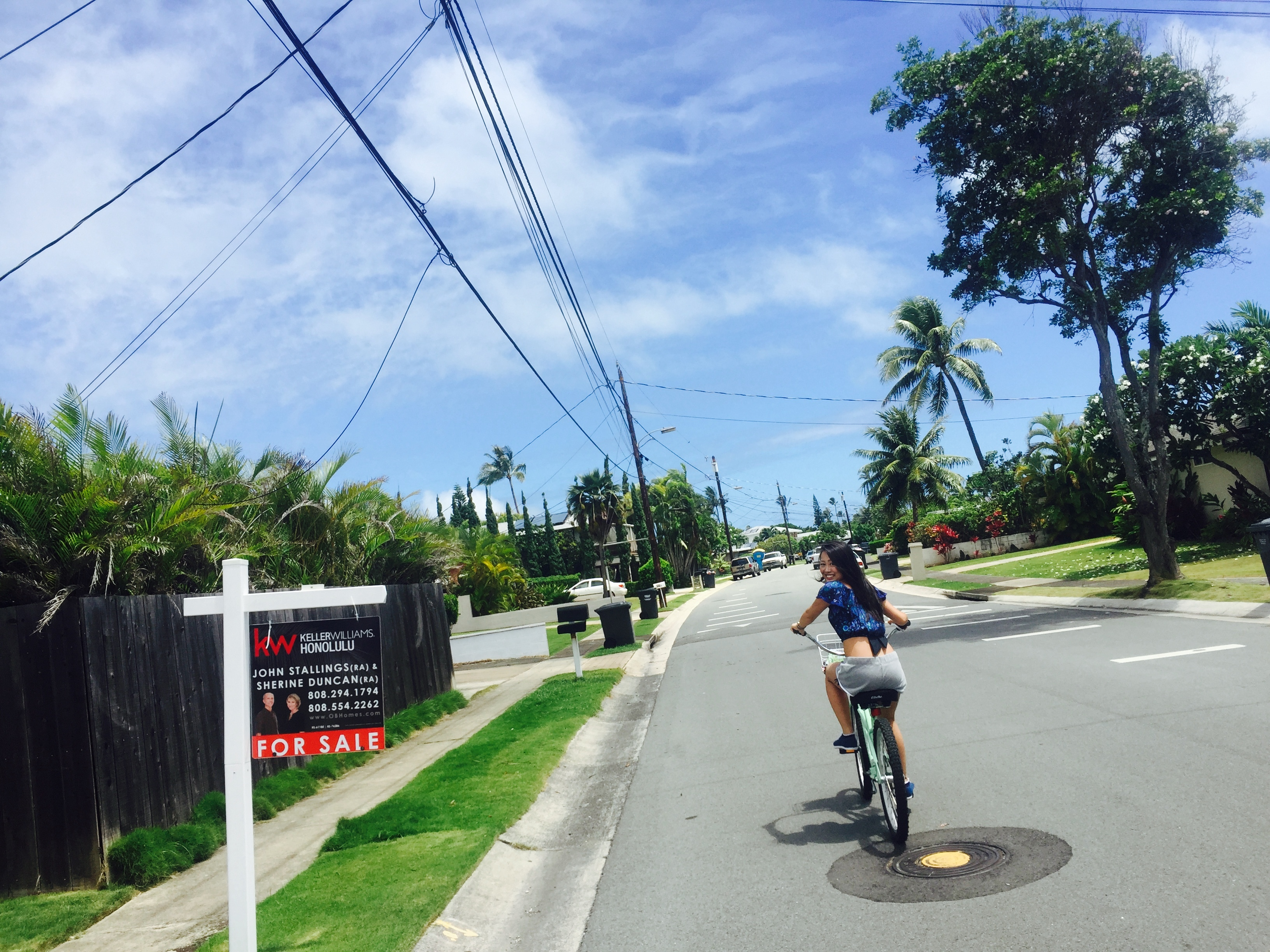 ハワイの住宅街