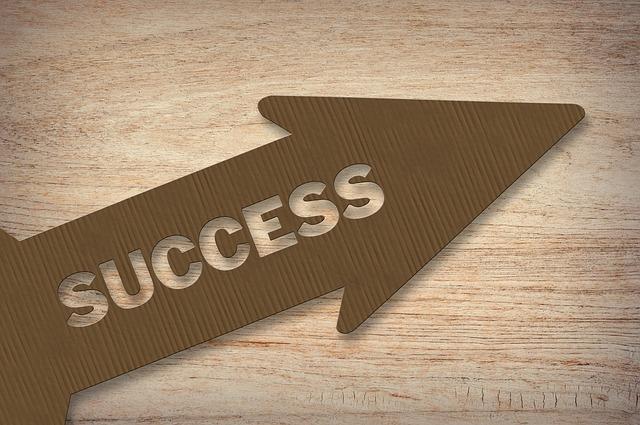 successと書いてある矢印