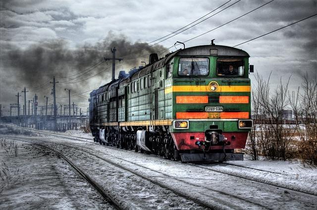 ロシアの電車