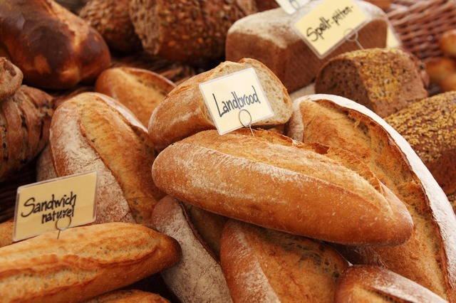 パンが並んでいる写真