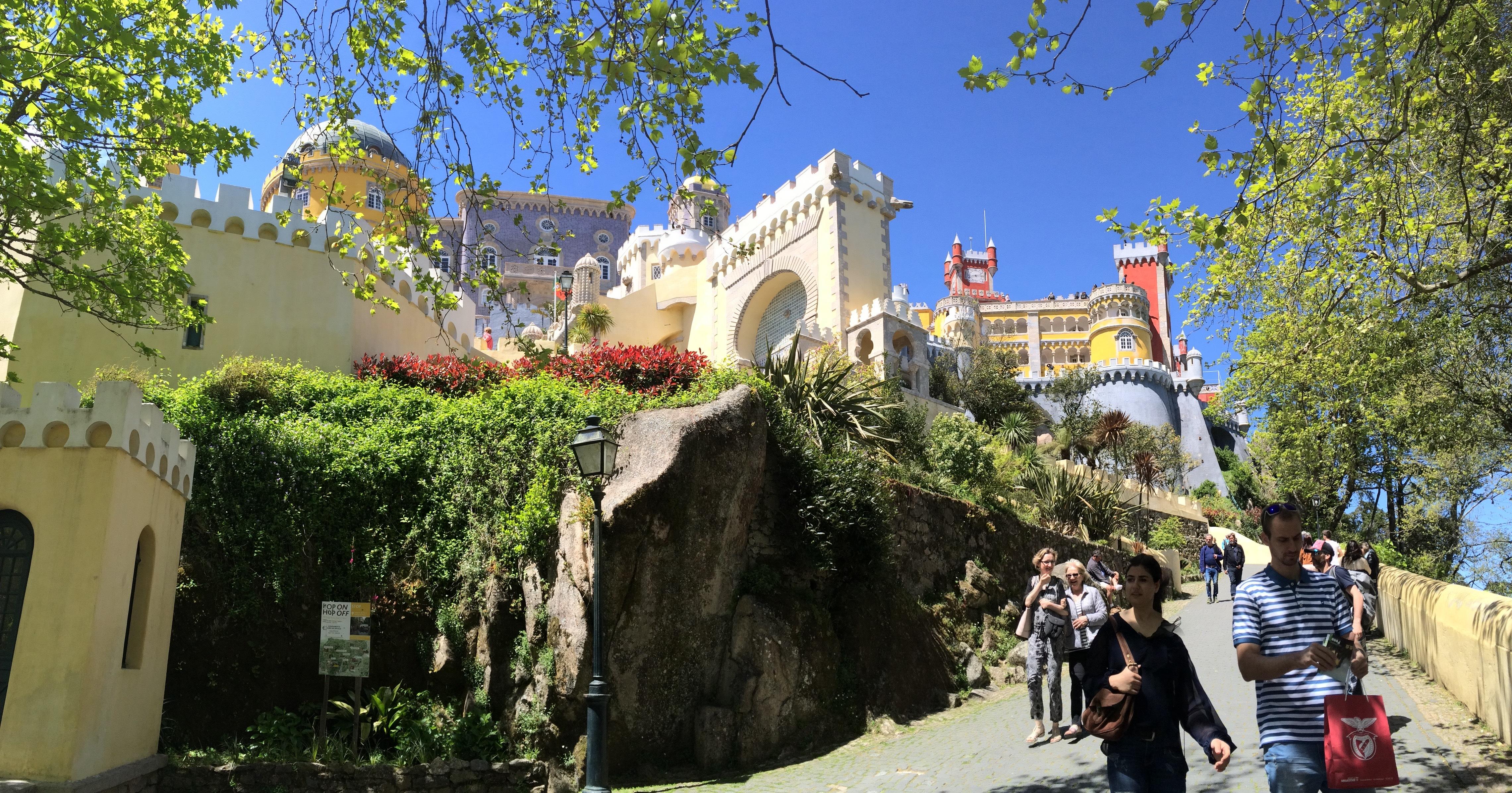 シントラ、ペーナ宮殿