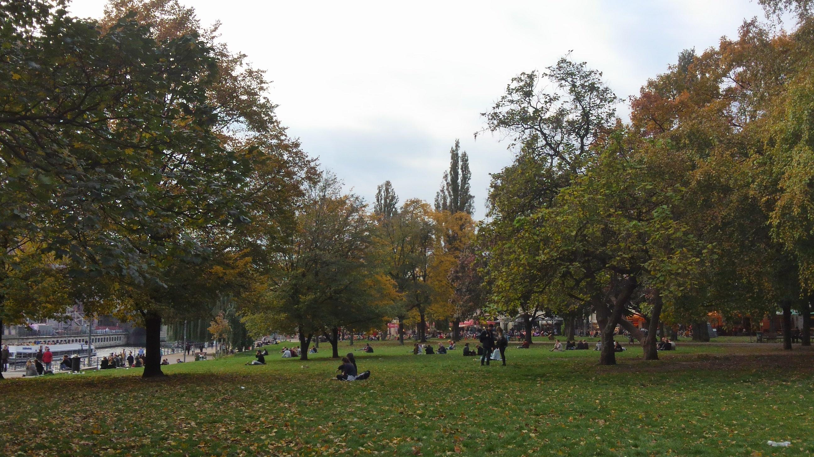 ドイツのベルリンの公園
