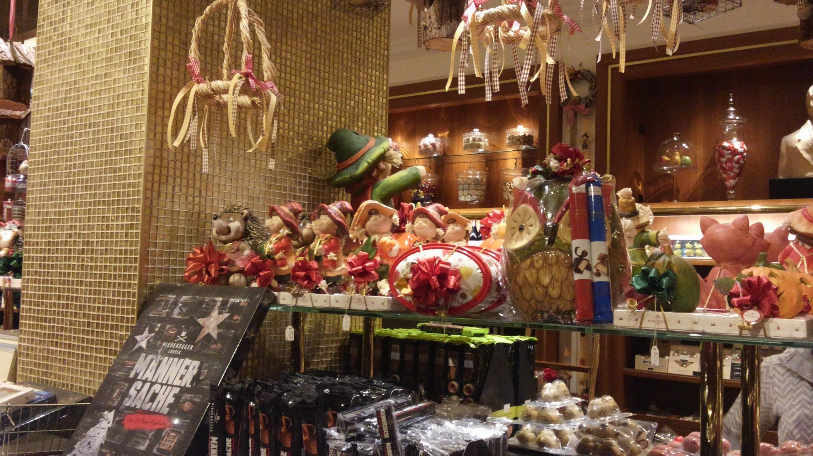 ドイツのハンブルクのお菓子屋さん