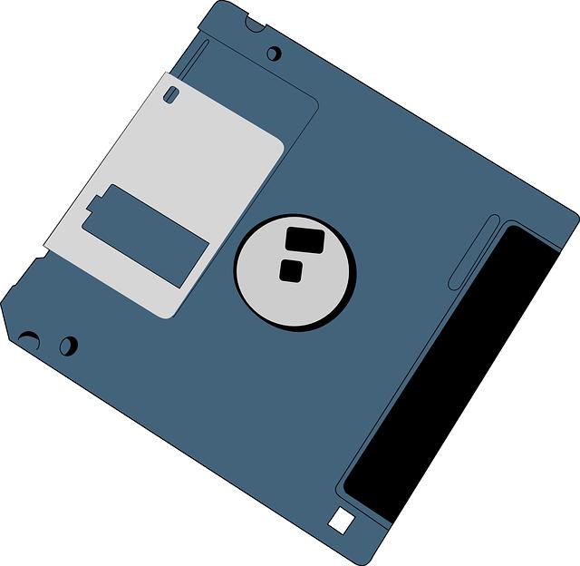 フロッピーディスクの写真