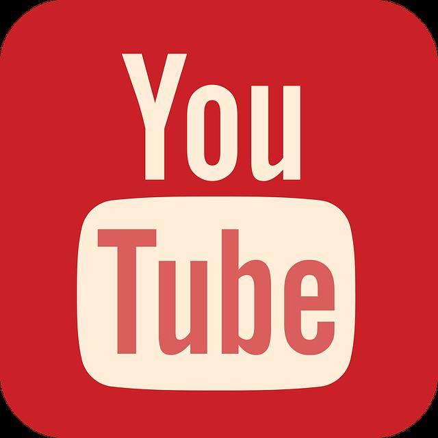 YouTubeのロゴの画像