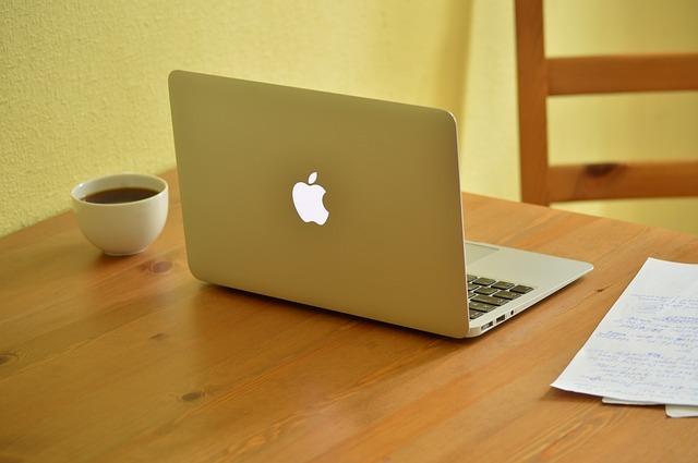 MacのPCの画像