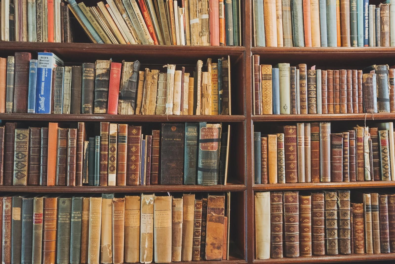 洋書の本棚
