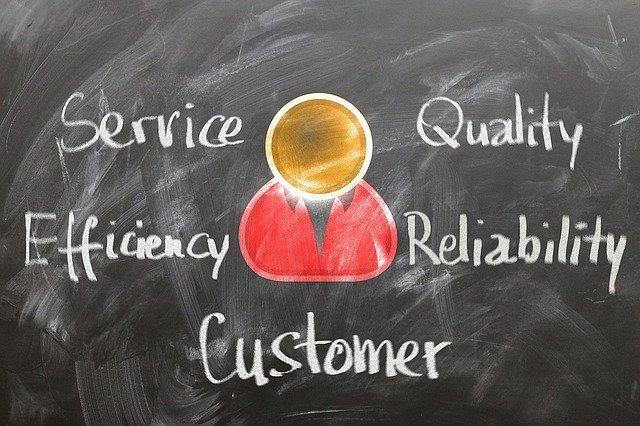 service,quality,efficiency,reliability,customer