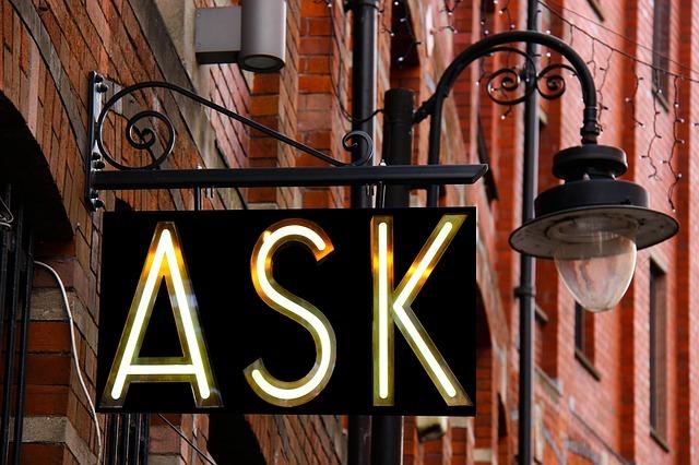 ask 人 to doを徹底解説!文法、用法、例文など