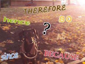 英語の順接表現「だから」を学ぶ!「それで」「なので」「ですので」など