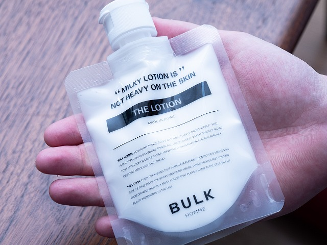 BULK HOMME THE LOTION乳液