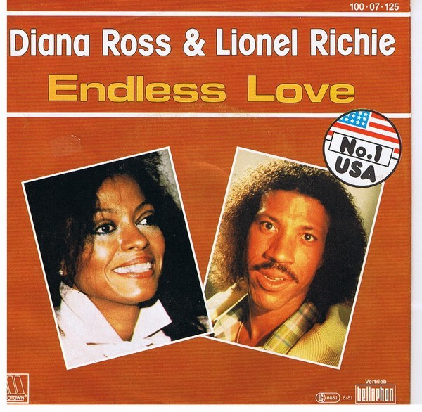 lionel richie & diana ross endless love ジャケット画像