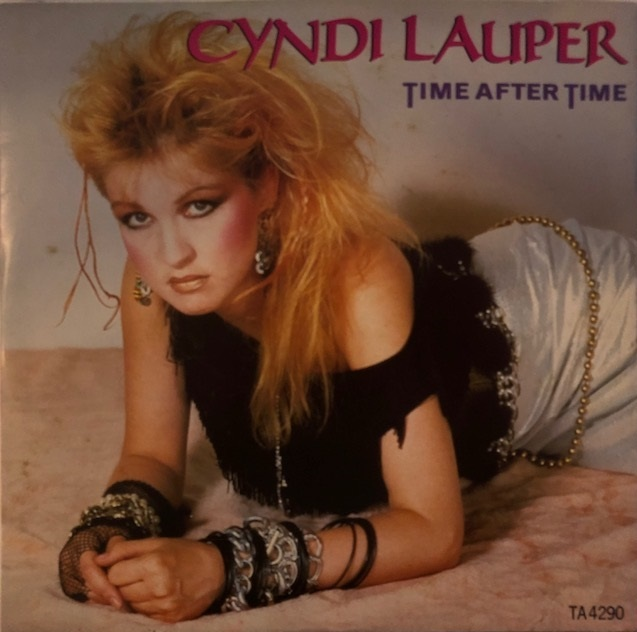 CYNDI LAUPER / TIME AFTER TIMEのアナログレコードジャケット 画像