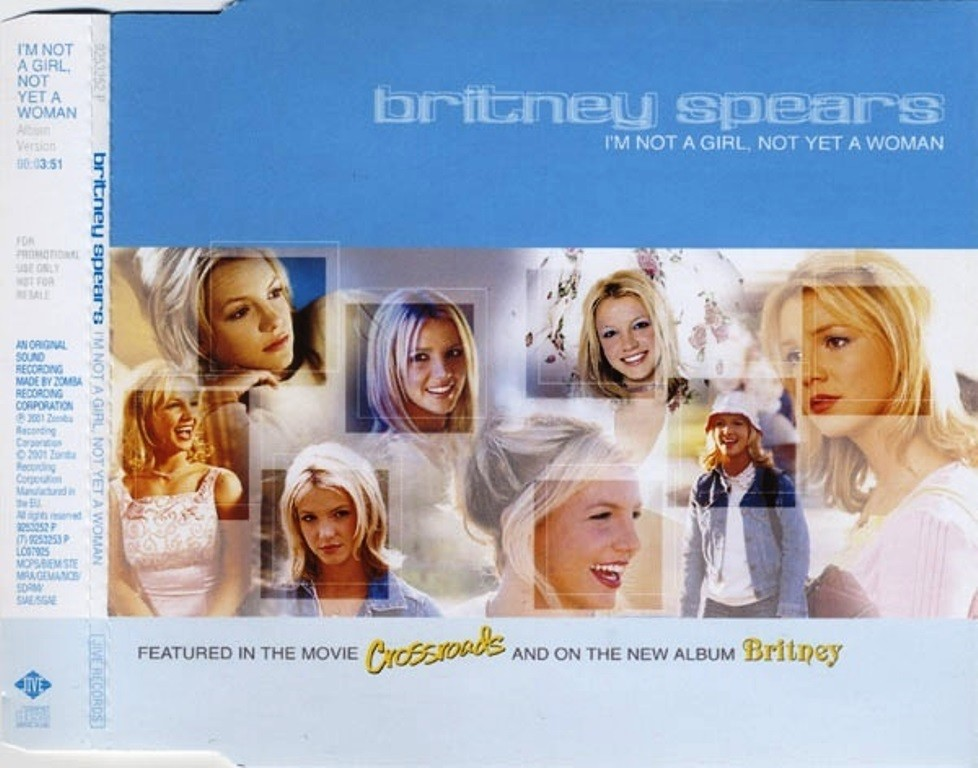 I'm Not A Girl, Not Yet A Woman|Britney Spears のジャケット画像