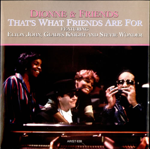 Dionne & Friends - That's What Friends Are For(愛のハーモニー)のジャケット画像