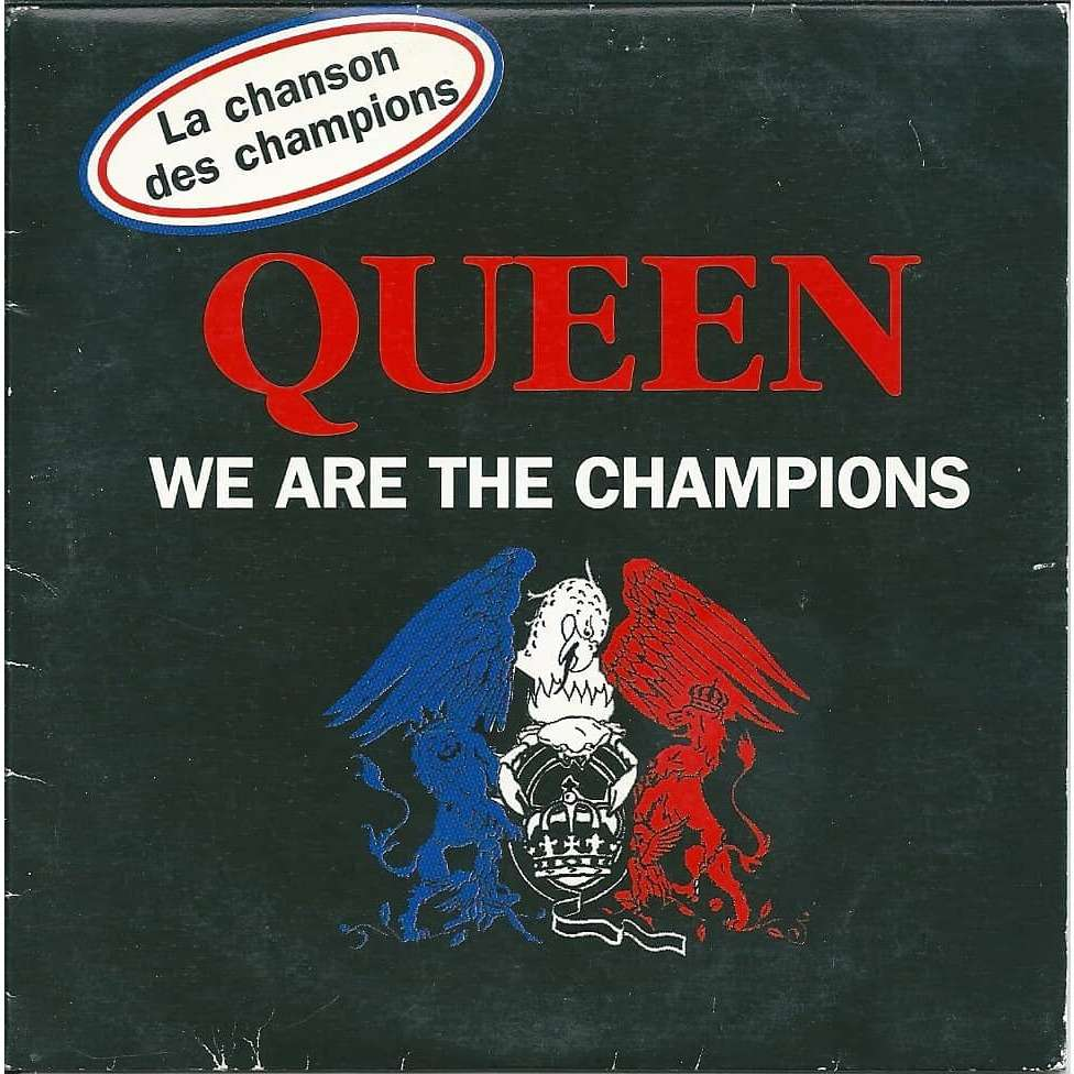 We Are The Champions/Queen ジャケット画像