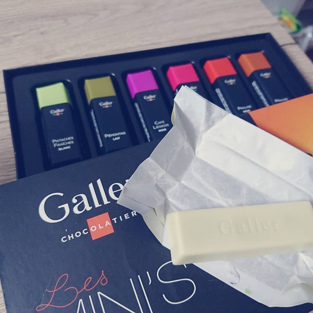 Galler「MINI'S BARS」の箱の画像