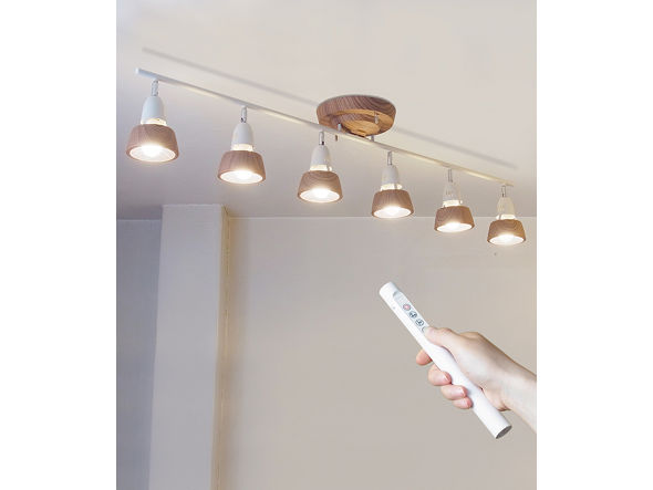 FLYMEe Factory/ART WORK STUDIO HARMONY 6-remote ceiling lamp