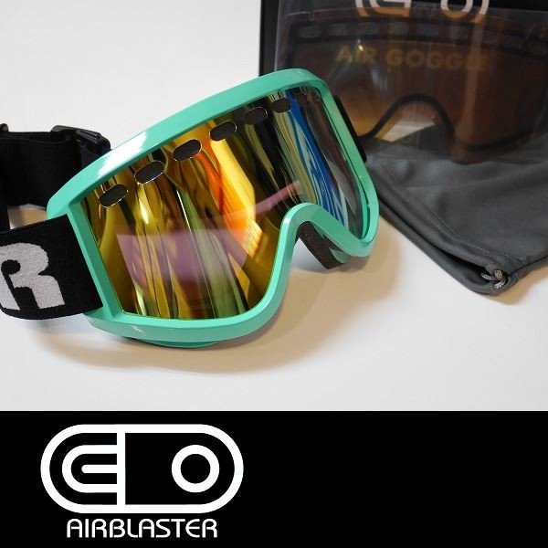 エアブラスター・OG・Air・Goggle・Teal・Yellow・Air・Radium/Basic・Amber
