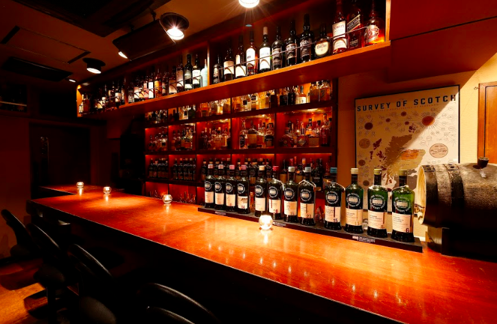 whisky house Visionの店内の画像