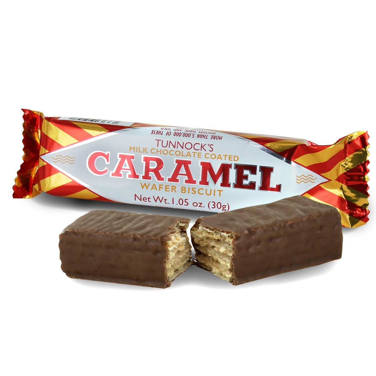 TunnockのCARAMEL WAFERの画像