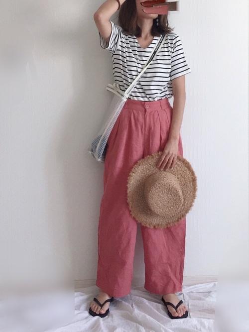 c5a039438e21e ピンクに合う10色を活かして女性らしい服装に!おしゃれピンク系コーデ41 ...