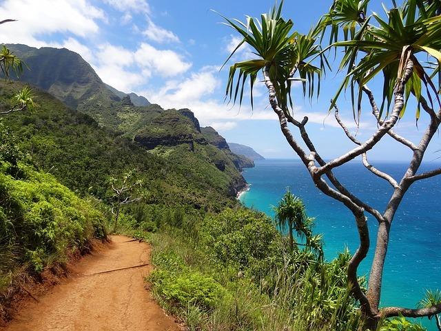 ハワイ国立公園の絶景