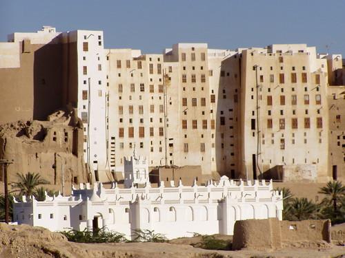 シバームの旧城壁都市