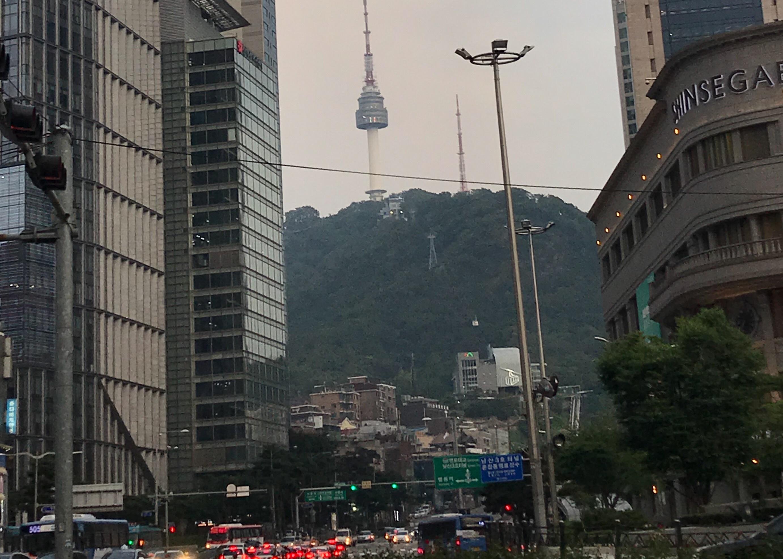 韓国・ソウルタワー
