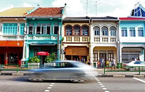 プラナカン文化 街並み