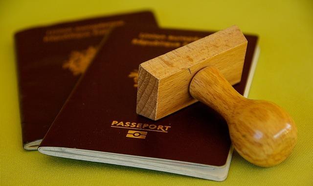 スタンプとパスポート