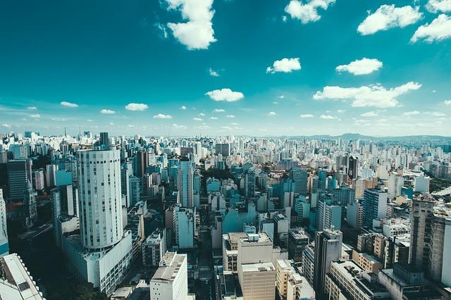 ブラジルの街並み
