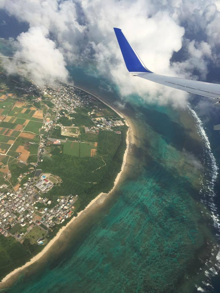 飛行機からの景色 オリジナル