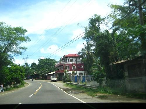 セブ島の道