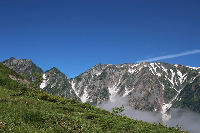 日本アルプス山脈