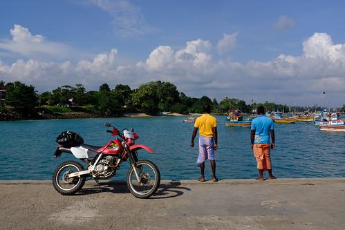 スリランカの港